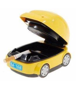 Huismerk Rijdende Auto Asbak