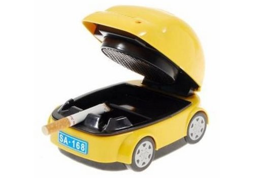 Rijdende Auto Asbak
