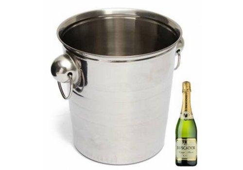 Roestvrij staal Ijsemmer Champagne Wijn Cooler