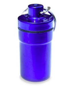 Huismerk Waterdicht Pillen Houder Blauw