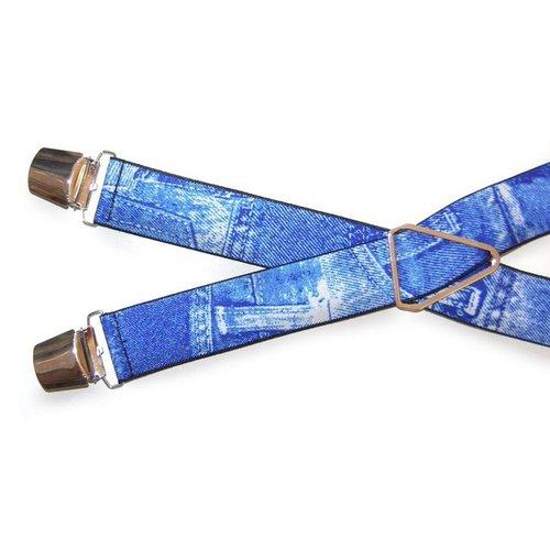 Huismerk Verstelbare Elastische Bretels Spijkerbroek