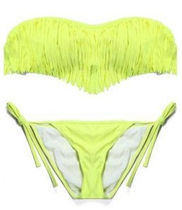 Huismerk Sexy Bandeau Bikini Groen M