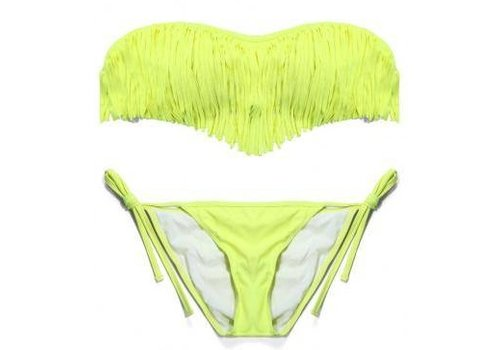 Sexy Bandeau Bikini Groen M