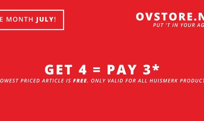 GET 4 = PAY 3 (JULY)