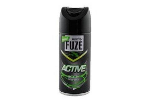 Huismerk Body-X Fuze Deospray 150ml Active