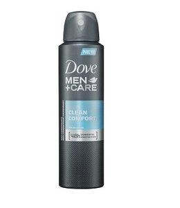 Huismerk Dove men+care clean comfort Deospray 150ml
