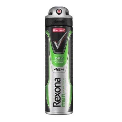 Huismerk Rexona men quantum dry deospray 150ml