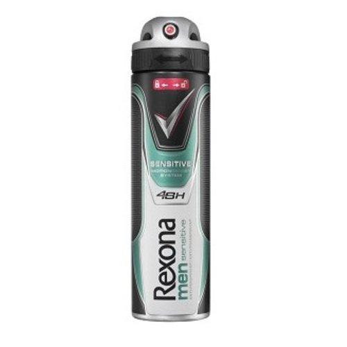 Huismerk Rexona men sensitive deospray 150ml