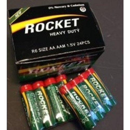 Huismerk ROCKET Batterijen 6x AA