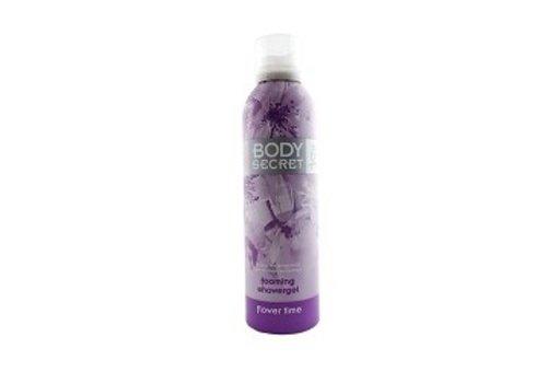 Body Secret Shower Foam 200ml flower time