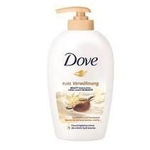 Dove sheabutter en vanille cream washlotion 250ml zeeppompje