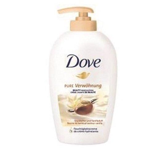 Huismerk Dove sheabutter en vanille cream washlotion 250ml zeeppompje