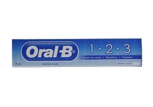 Oral-B Tandpasta 75ml menthol fris
