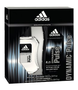 Huismerk Adidas Men Dyn After shave 100 ml + douche gel 250 ml