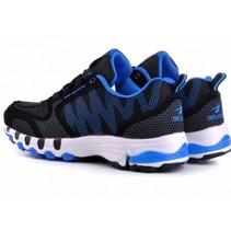 Running Mode Sportschoenen 45 Zwart/Blauw