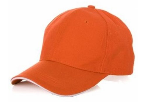 Huismerk Sport Cap Oranje
