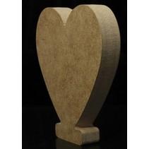 Houten Symbool LOVE 10 x 1,5 cm
