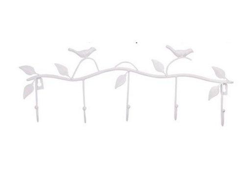Vogel Tuin Binnenhuis Kapstok Wit