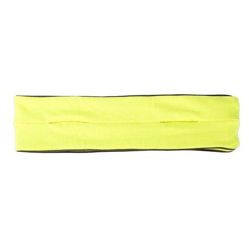 Huismerk Sport Handoek Groen/Geel S