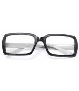 Huismerk Bril Frame Zonder lenzen Wit
