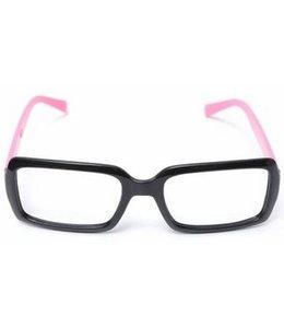 Huismerk Bril Frame Zonder lenzen Roze