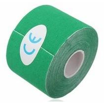 Therapeutische Sport Tape 5 meter Groen