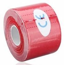 Therapeutische Sport Tape 5 meter Rood