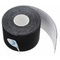 Therapeutische Sport Tape 5 meter Zwart