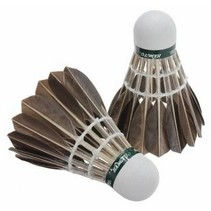 Shuttles Badminton 79 Bruine ganzenveren 12 Stuks