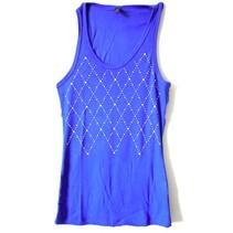 T-Shirt Steentjes Blauw L/XL