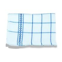 Theedoeken 50x70 cm Wit/Blauw