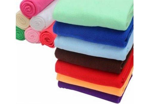 Huismerk Absorbent Microfiber Handdoek 70 x 140 cm Grijs