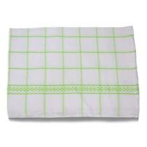 Theedoeken 50x70 cm Wit/Groen
