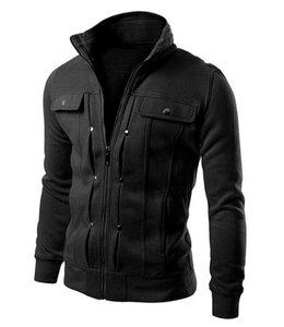 Huismerk Casual Blazer Winter Zwart XL