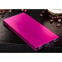 Ultradunne Powerbank 50000mAh Roze