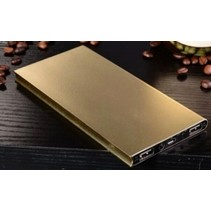 Ultradunne Powerbank 50000mAh Goud