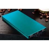Ultradunne Powerbank 50000mAh Blauw