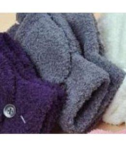 Huismerk Vingerloze Handschoenen Donker Grijs