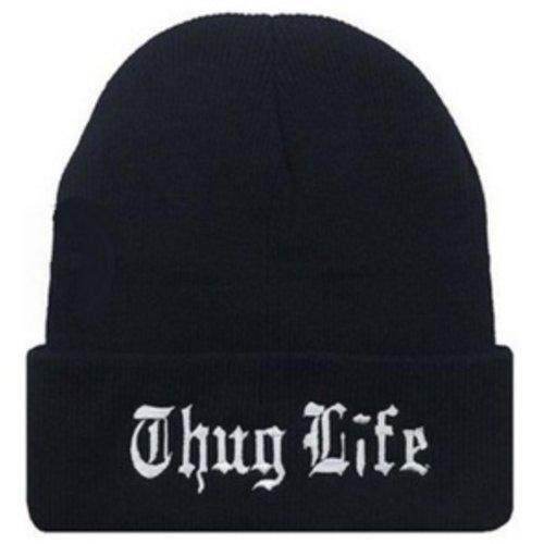 Huismerk Wintermuts Thug Life Zwart