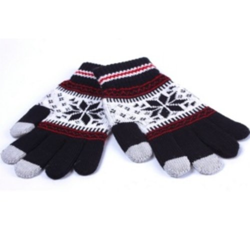 Huismerk Smart Touch Sensing Handschoenen Zwart