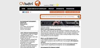 Definitief einde OVKwijt.nl per 31-12-2015
