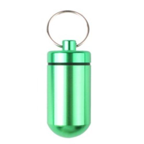 Huismerk Pillenhouder BIG Groen 5,5 x 2,5 x 2.5 cm