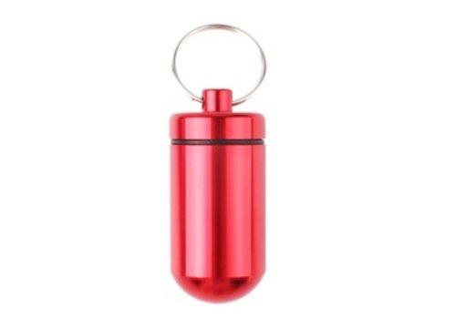 Pillenhouder BIG Rood 5,5 x 2,5 x 2.5 cm