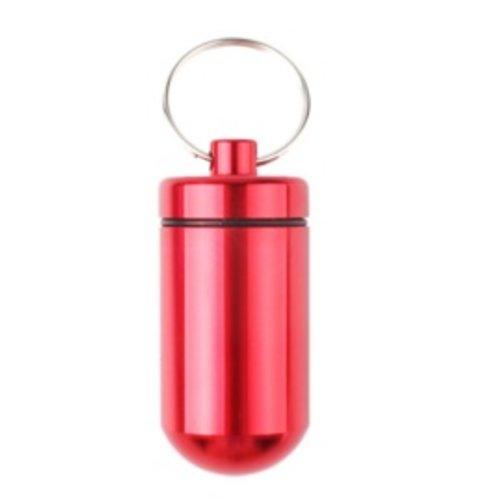 Huismerk Pillenhouder BIG Rood 5,5 x 2,5 x 2.5 cm
