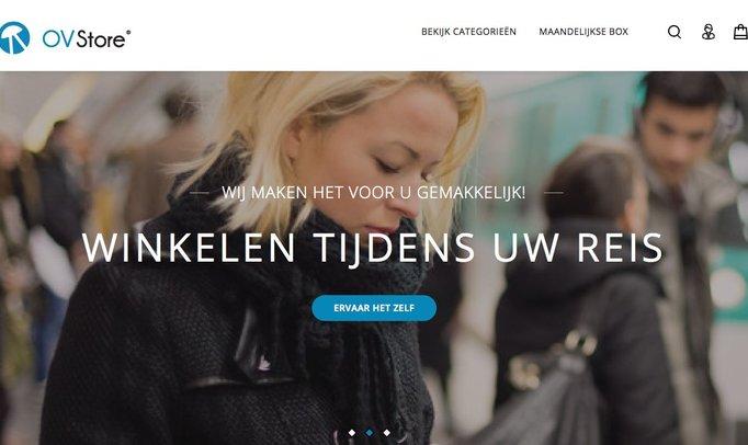 OVStore heeft zijn website vernieuwd