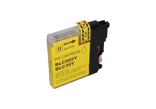 Huismerk Brother LC-980Y Geel Inktjet cartridge
