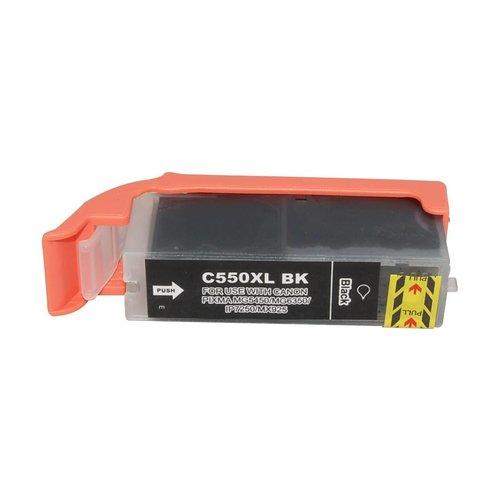 Huismerk Canon CLI-550XL BK zwart Inktjet cartridge