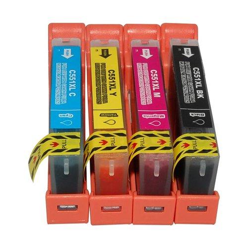 Huismerk Canon CLI-551 Multipack 5 stuks (Compatible)