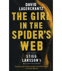 David Lagercrantz The girl in the spider`s web