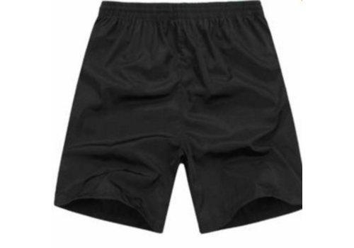 Huismerk Sport Zwembroek Zwart Plus Size
